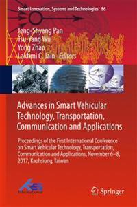 Advances in Smart Vehicular Technology, Transportation, Communication and Applications