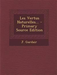 Les Vertus Naturelles...