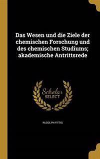 GER-WESEN UND DIE ZIELE DER CH