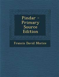 Pindar - Primary Source Edition