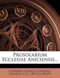 Prosolarium Ecclesiae Aniciensis...
