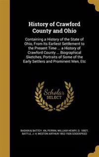 HIST OF CRAWFORD COUNTY & OHIO