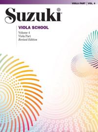 Suzuki Viola School, Vol 4: Viola Part