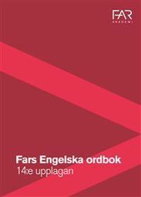 FARs Engelska ordbok