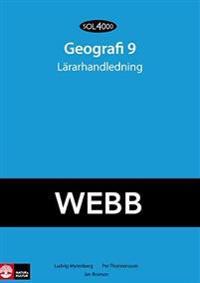 SOL 4000 Geografi 9 Lärarhandledning Webb