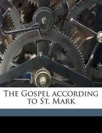 The Gospel according to St. Mark Volume v.41:2
