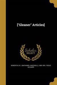 GLEANER ARTICLES