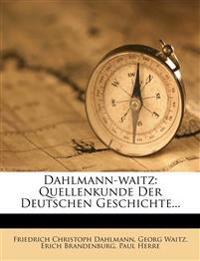 Dahlmann-Waitz: Quellenkunde der deutschen Geschichte. Ergänzungsband. 7. Auflage.