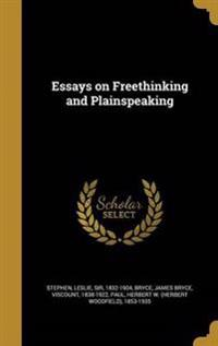ESSAYS ON FREETHINKING & PLAIN