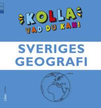Kolla vad du kan Sveriges geografi