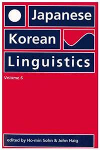 Japanese/Korean Linguistics
