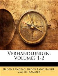 Verhandlungen, Volumes 1-2