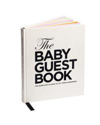 The baby guest book : för barn som klarar av att höra sanningen