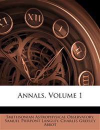 Annals, Volume 1