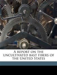 A report on the uncultivated bast fibers of the United States