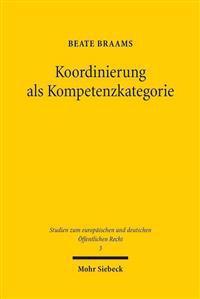 Koordinierung ALS Kompetenzkategorie