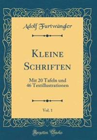 Kleine Schriften, Vol. 1