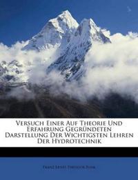 Versuch einer auf Theorie und Erfahrung gegründeten Darstellung der wichtigsten Lehren der Hydrotechnik, Erster Band