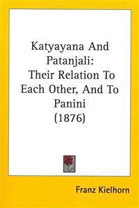 Katyayana and Patanjali