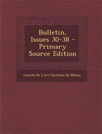 Bulletin, Issues 30-38