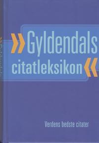Gyldendals citatleksikon