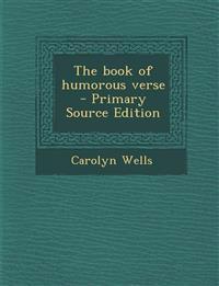Book of Humorous Verse