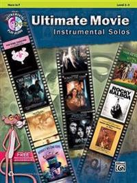 Ultimate Movie Instrumental Solos: Horn in F, Book & CD