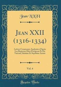 Jean XXII (1316-1334), Vol. 4