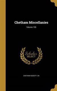 CHETHAM MISCELLANIES VOLUME 10