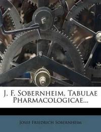 J. F. Sobernheim, Tabulae Pharmacologicae...