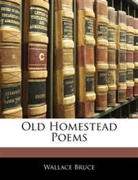 Old Homestead Poems