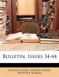 Bulletin, Issues 34-44