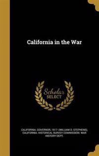 CALIFORNIA IN THE WAR