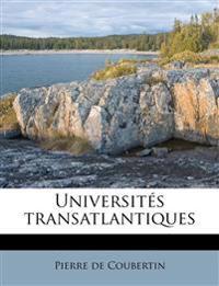 Universités transatlantiques