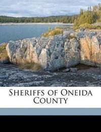Sheriffs of Oneida County