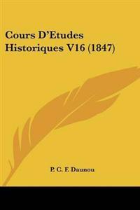 Cours D'etudes Historiques