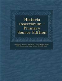 Historia insectorum