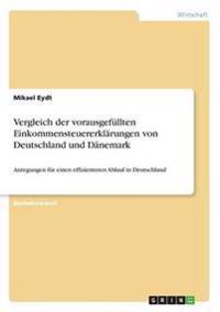 Vergleich der vorausgefüllten Einkommensteuererklärungen von Deutschland und Dänemark