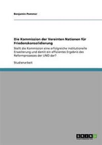 Kommission Der Vereinten Nationen Fur Friedenskonsolidierung