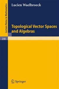 Topological Vector Spaces and Algebras