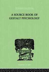 A Source Book of Gestalt Psychology