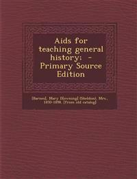 Aids for teaching general history;