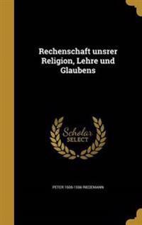 GER-RECHENSCHAFT UNSRER RELIGI
