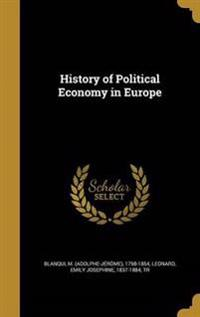 HIST OF POLITICAL ECONOMY IN E