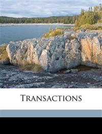 Transaction, Volume 23