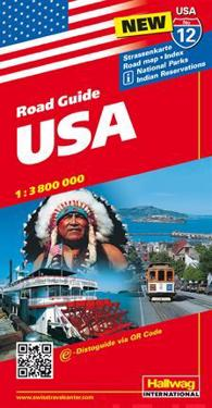 Rand McNally Hallwag United States Map