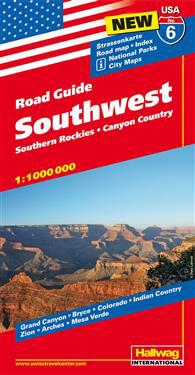 USA Southwest Road Guide