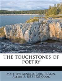 The touchstones of poetry