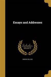 ESSAYS & ADDRESSES