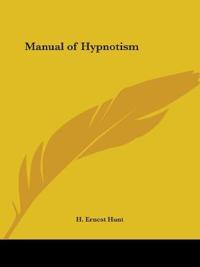 Manual of Hypnotism 1920